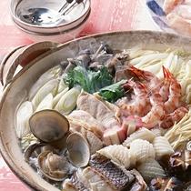 郷の宿陶山のふぐ鍋料理