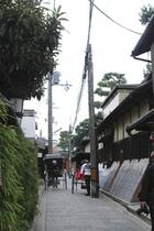 近隣風景:人力車(歩2分)
