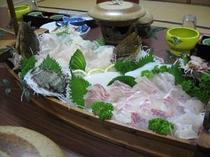 舟盛 ヒラメ