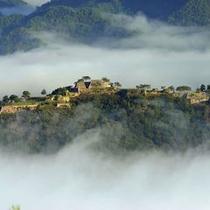 立雲峡から望む 天空の城 竹田城跡(撮影:吉田利栄)