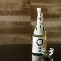日本酒もご用意。
