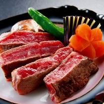 和牛の柔らかステーキ甘味のあり柔らかいステーキです。