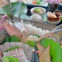 *夕食一例/毎朝福山から直送される新鮮な瀬戸内の幸!