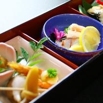 富山湾の朝獲れ 魚介類使った♪こだわり会席をご賞味下さい