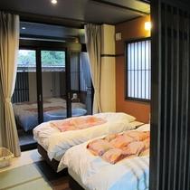 【新棟】寝室の様子