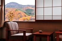 窓から望む四季の風情
