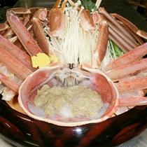 *越前カニ料理一例/本物の越前カニを食べるなら当館で!お食事のみもOKです。