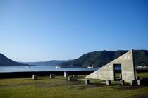 海人の家前からの景色