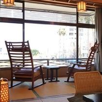 【海側客室】広縁イメージ