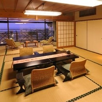 【海側客室】和室12.5畳〜夕暮れ
