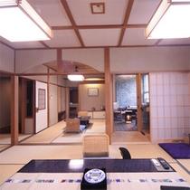 露天風呂付き客室(天然温泉)