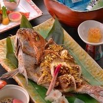 ■祝い膳(鯛姿焼き)