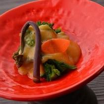 ■山菜和え物