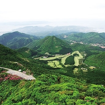 雲仙岳全景