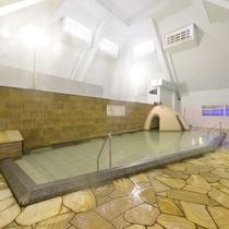 大浴場:天然温泉かけ流し