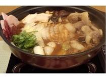 ボタン鍋・(冬は暖かくお鍋で)