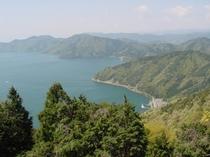 【賤ヶ岳古戦場】南北に奥琵琶湖と竹生島、東に伊吹山、北に余呉湖が一望、近江八景の一つ