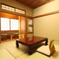 【和室8畳・トイレ付】磯部温泉が見渡せる眺望の良いお部屋