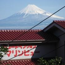 ★マリンビューと冬の富士山★