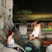 露天風呂「見晴の湯」