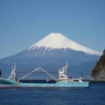 富士山と大師丸