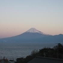 マリンビューからの富士山