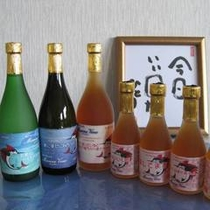 マリンビューオリジナル「梅酒や芋・麦焼酎」