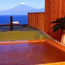 【マリンボート】富士山一望の6つの露天は24時間貸切無料