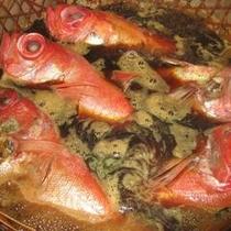 マリンビュー大人気の「金目鯛の姿煮」