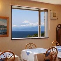 富士山が眺められるレストラン