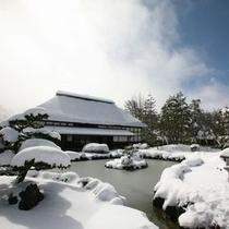 冬のホテル