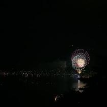 諏訪湖 花火