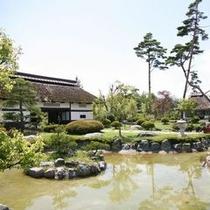 諏訪湖の森 庭園