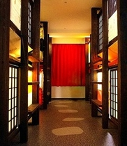 デラックスドミトリー(着物ベッドドミトリー/シャワー、トイレ付)【禁煙】