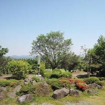 【神武の館】の庭