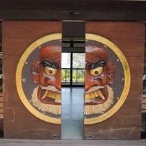 【神武の館】日本神話「神武天皇生誕の地」として知られる由緒ある自然公園。