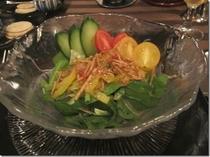 農園野菜のフレッシュサラダ