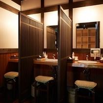 大浴場|女性湯脱衣所