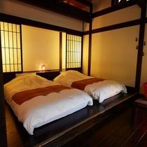 月のしずく|寝室ベッド
