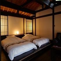 ほたるの棲家|寝室ベッド