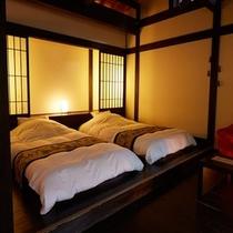 木漏れ陽|寝室ベッド