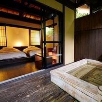 木漏れ陽|檜風呂