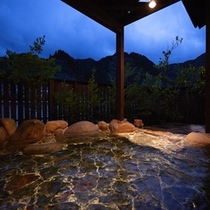 大浴場|男性湯夜