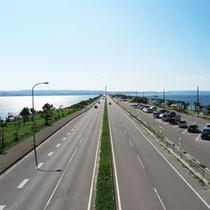人気のドライブコース♪海中道路