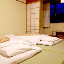 【和室一例】ゆったりお寛ぎいただける和室タイプのお部屋。