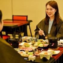 【季節替わりの料理】お二人でゆっくり米沢の味覚を味わいください