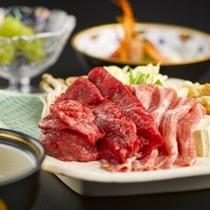 【ジューシーな米沢肉】二種盛りや三種盛など米沢の肉を味わい尽くす料理プランをご用意