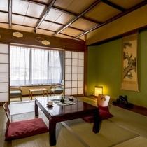 【山水荘/和室】古き良き時代を感じさせるレトロな空間が特徴のお部屋(トイレ付)