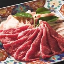 【ジューシーな米沢肉】黒毛和牛と米沢豚の盛合わせ(人数分の盛り合わせ)