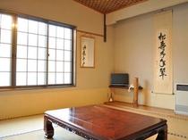 【客室(1-3名用】明るく清潔な客室は気持ちよく過ごすことができる。